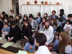4月2日入園・進級式1